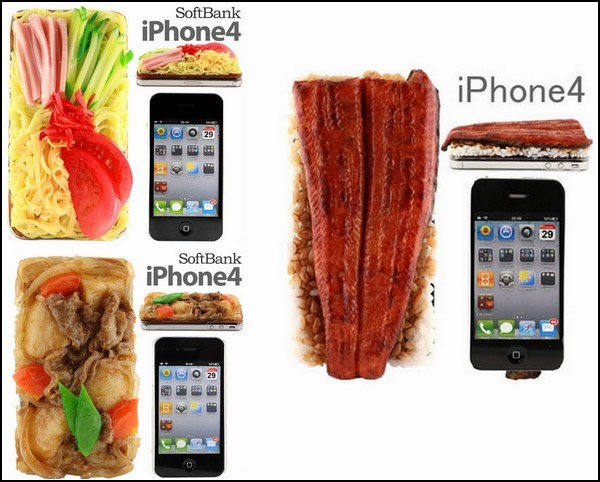 Разновидности суши на чехлах для iPhone