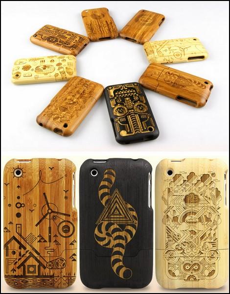 Деревянные чехлы для iPhone