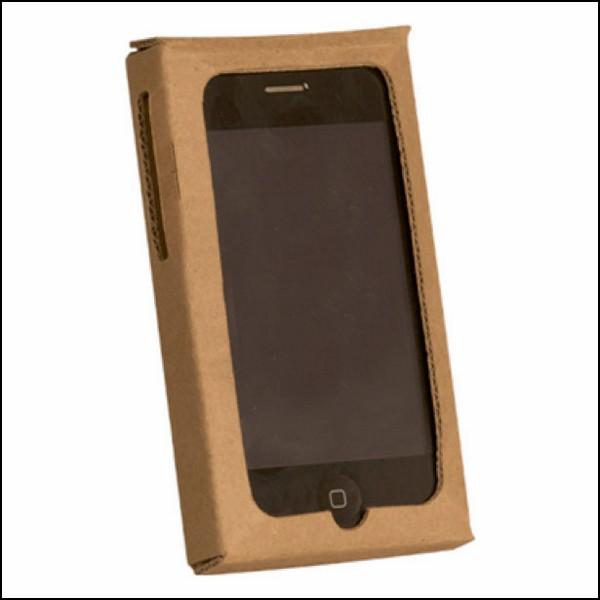 Самый дешевый чехол для iPhone, из картона