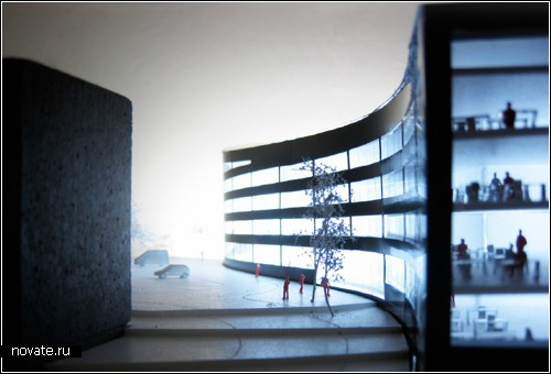 Проект офисно-торгового центра *Worm Lange* в Норвегии
