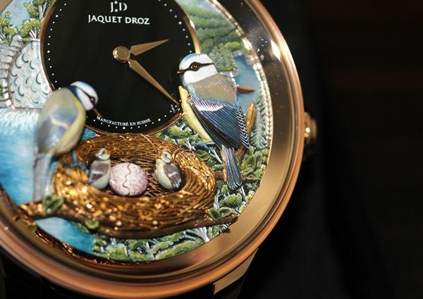 Bird Repeater, изысканная новинка от часовой компании Jaquet Droz