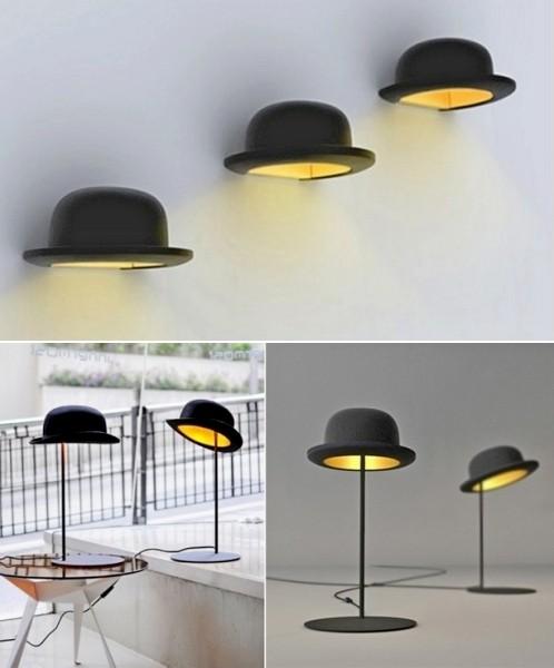 Jeeves and Wooster, фетровые светильники для креативного интерьера