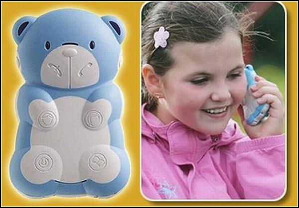 Kidphones. Телефоны BB-mobile GUARD и Teddyfone для малышей