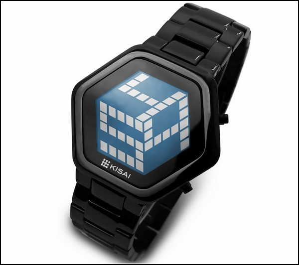 Kisai 3D watch. На часах: 5-14