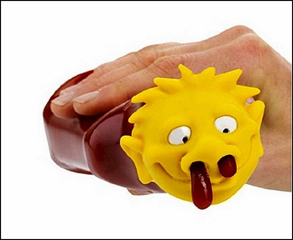 *Кровавая голова* для выдавливания кетчупа