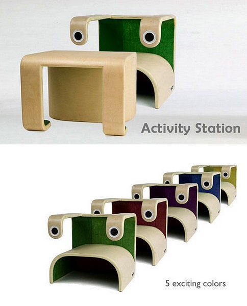 Little Frog от Klinko Kids. Детская деревянная мебель 3-в-1