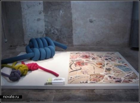 Knot collection. Мебель из гигантских узлов
