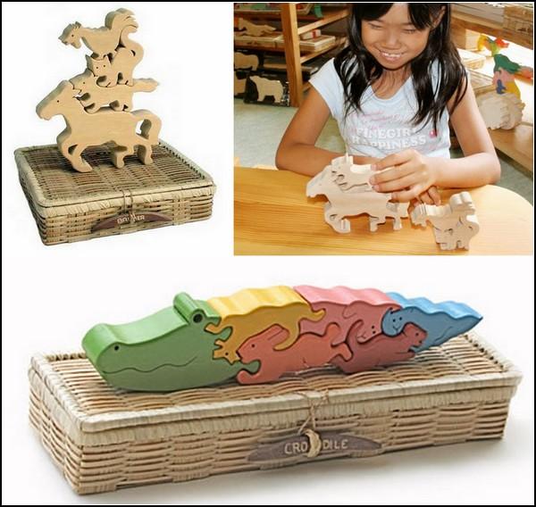 Креативные кубики-конструктор для малышей от GINGA KOBO TOYS