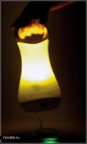 Фонарь Kuch Lantern, который нужно держать крепче