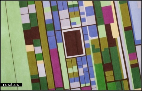 Ковры-ландшафты Land carpets от Florian Pucher