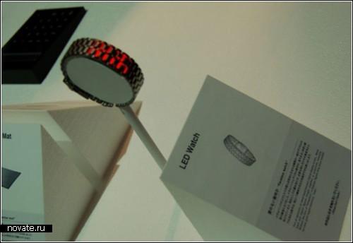 100% LED Watch. Дизайн в условиях экономии