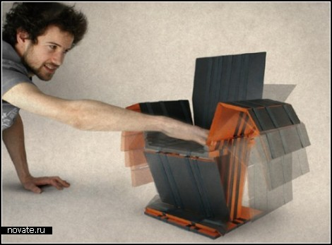 Оживающая мебель от Arthur Bodolec