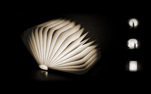 Книга-светильник, проект Lumio от дизайнера Max Gunawan