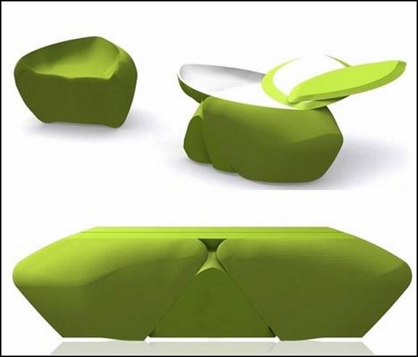Крылатый столик Lytta table