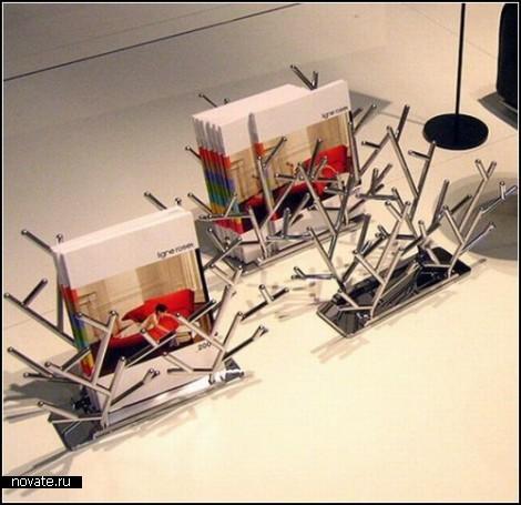 Чтоб журналы были под рукой Обзор креативных подставок для периодики
