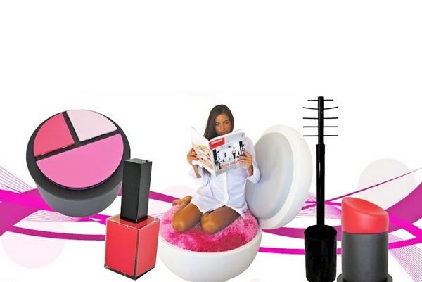 Дизайнерская мебель MakeUp Now, чтобы примарафетить интерьер