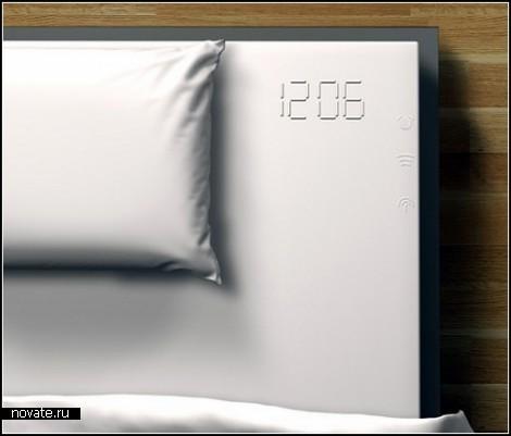 Часы, будильник и...простынь. Концептуальный девайс Melted Clock