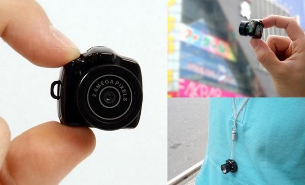 Самая маленькая в мире фотокамера MAME-CAM