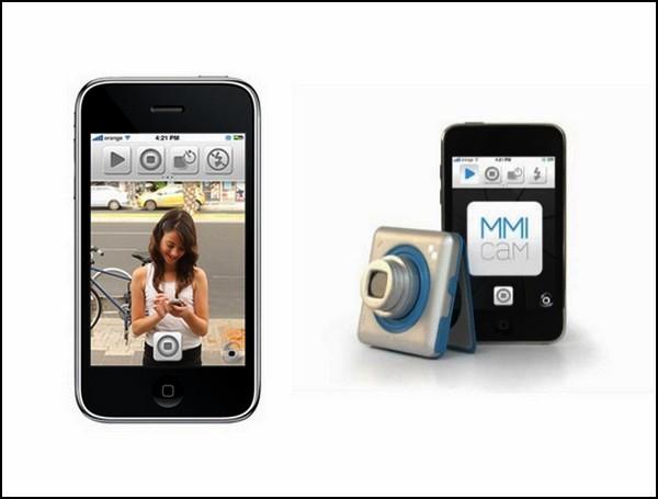 Концептуальный фотоаппарат MMI screen-less camera. Идеальный автопортрет одним кликом