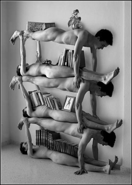 Арт-полка для книг