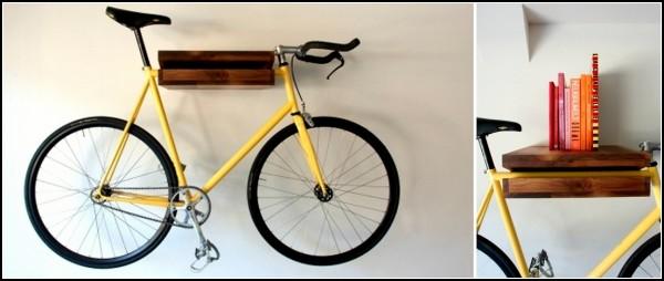 Полка-велосипед