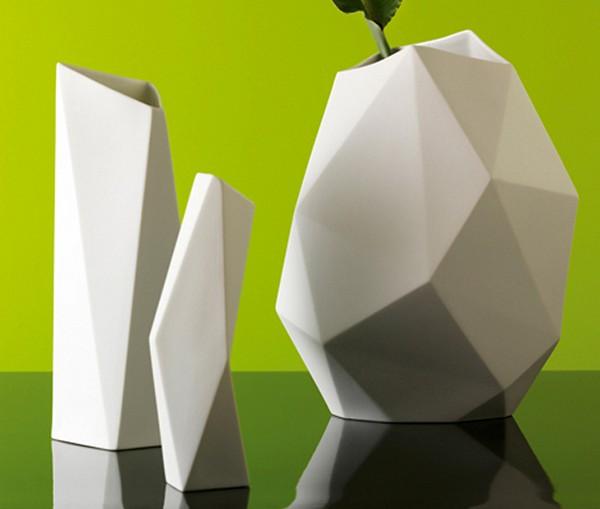 Дизайнерские вазы, необычные внешне но для обычных целей