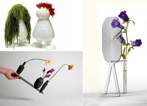 Обзор самых оригинальных и необычных дизайнерских ваз