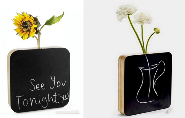 Ваза-досточка Chalkboard Bud Vase