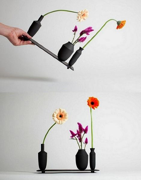 Магнитные вазы из серии Tangent