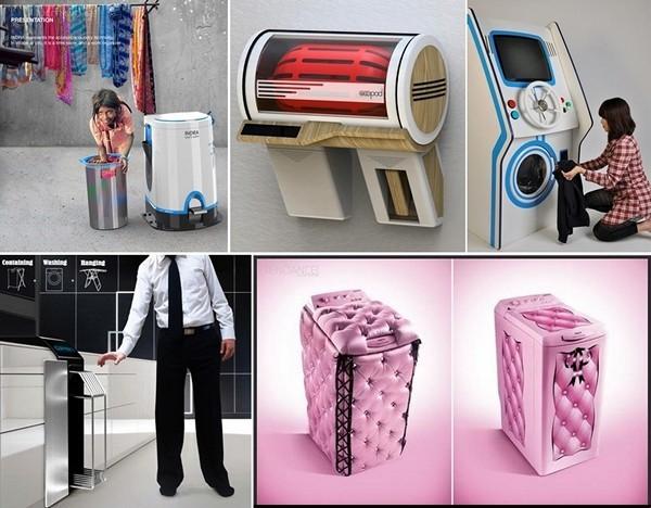 Обзор концептуальных стиральных машинок