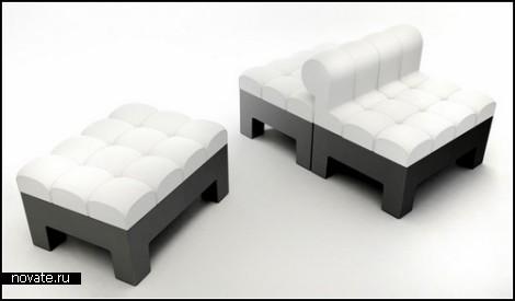 Модульный наборной диван Modi Sofa. Концепт