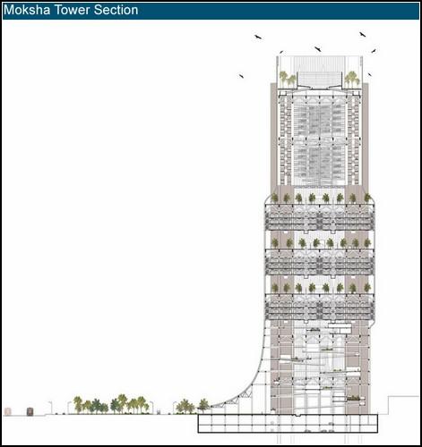 Moksha Tower. *Башня смерти* для индийского Мумбаи