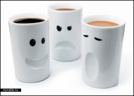 Mood mugs. Кружки-настроения от Thabto