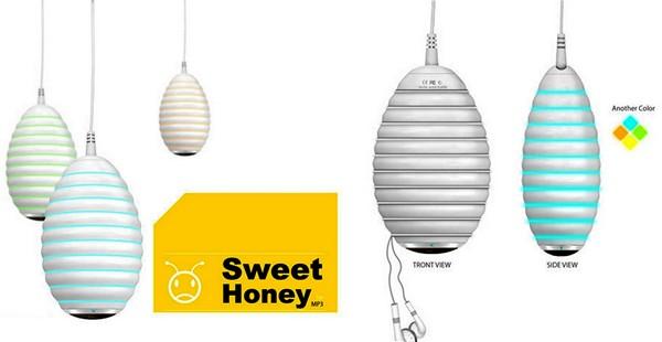 Sweet honey, плеер, который пахнет