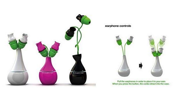 Flower vase mp3-плеер