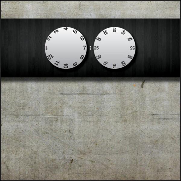Пара настенных часиков UnTime Clock