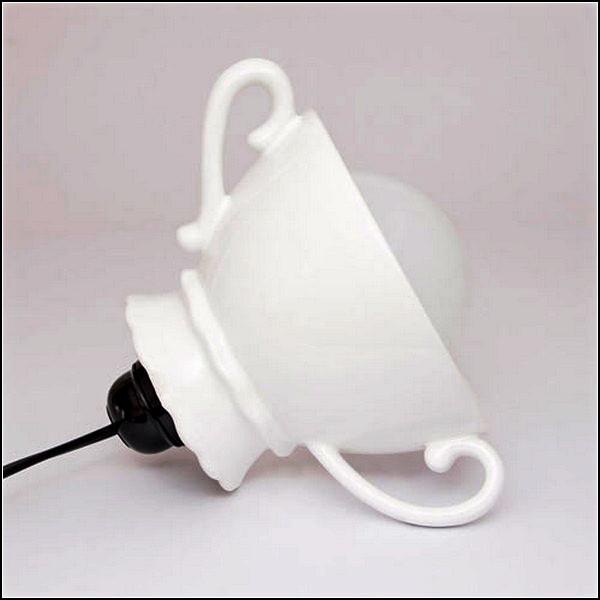 Изящный светильник Nata Lamp из керамической креманки
