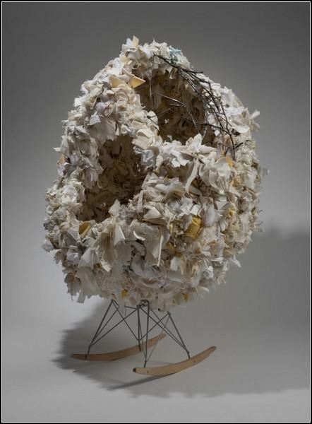 Кресло-гнездо под названием Nest