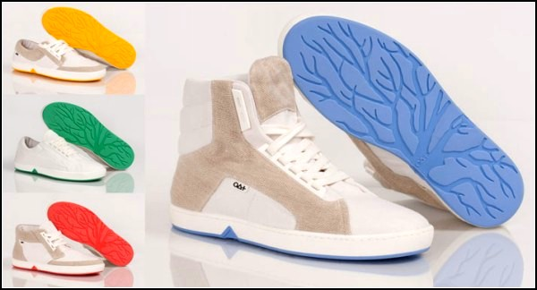 Экологически чистые кроссовки от фирмы Oat Shoes