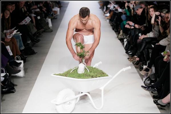 *Зеленая* обувь от голландских дизайнеров