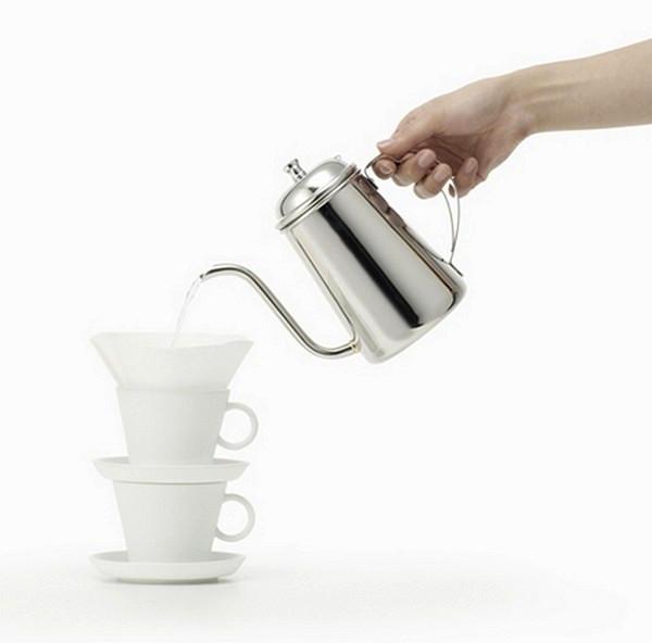 Оригинальная коллекция керамической посуды 1% products от Nendo