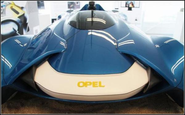 Opel Icona, автомобиль-вездеход для 2050 года