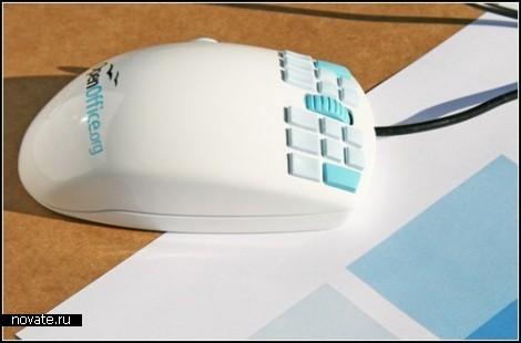 Мышка OpenOfficeMouse с 18-ю кнопками