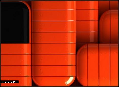 Стильный беспроводной телефон Orefon от дизайнера Kit Men. Концепт