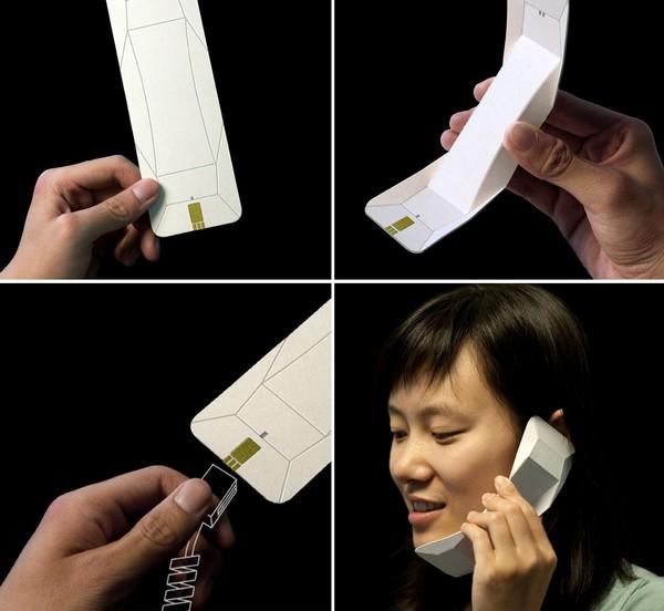 Origami Phone - концепт телефона-раскладушки