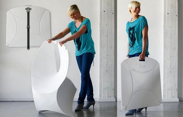 Складной стул-оригами Flux chair