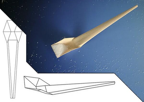 Origami Spoon, деревянная ложка-оригами