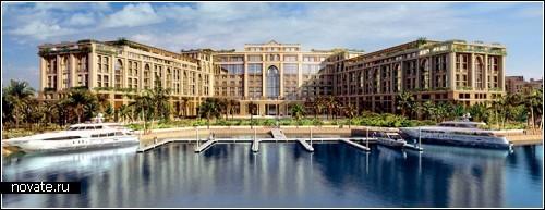 Так будет выглядеть уникальный пляж при отеле Рalazzo Versace