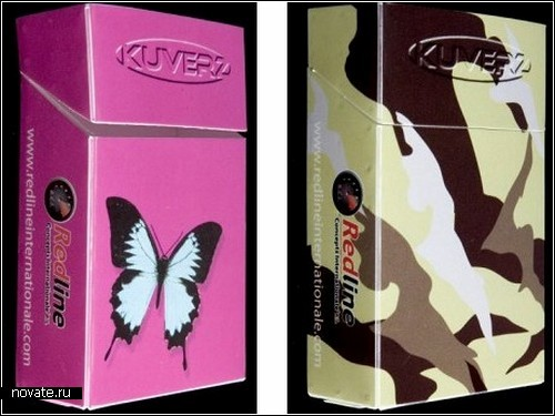 Обзор креативных сигаретных упаковок