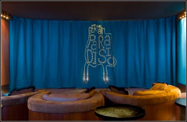 Мини-кинозал Germain Paradisio как райский уголок в центре Парижа